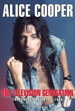 Alice Cooper Television Generation Transmissions 71/95 DVD All Regions NTSC NEW