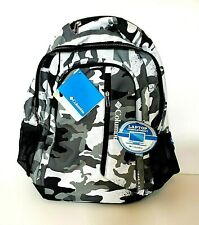 NEW Columbia Trails Edge Camouflage Backpack Laptop School BookBag Omni Shield
