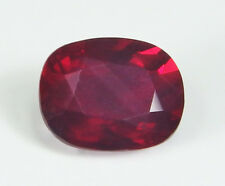 GIA Certified Natural Ruby Cushion Pigeon's blood Red 4.02 ct