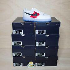 Nike Air Force 1 низкий, белый, красный, черный (ледяной подошвы) размер 9.5, DS совершенно новый