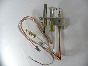 Heat & Glo Heatilator Gas Fireplace Natural Gas Pilot Assembly 4021-732, 25660