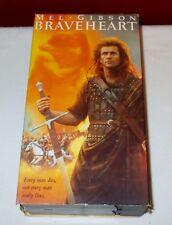1996 VHS BRAVEHEART 2 Tape Set Mel Gibson ^