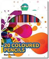 Colouring Colour Pencil Art Craft Coloured Pencils Pack Children Kids School