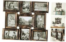 DL furniture - 9 Opening Decorative Wall Hanging Collage Puzzle Picture Photo Fr