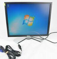 "Dell 1907FPc 19""  LCD Monitor with Cables VGA Grade B"