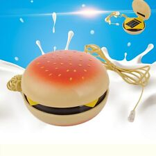 Novelty Cheeseburger Corded Phone Hamburger Home Desktop Telephone Home Decor