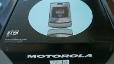 Handy Motorola RAZR V3i, silver, kein Simlock, NEU  Originalverpackt !
