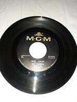 "ROY ORBISON - Ride Away / Wondering 1965 7"" Record US 45 rpm Single MGM K13386"