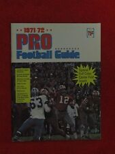 1971-72 NFL PRO FOOTBALL GUIDE STAMP BOOKLET 100% COMPLETE w 48 STAMPS NRMT-MINT
