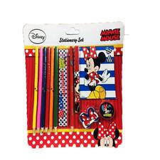 Kids Disney Minnie Mouse Stationery Set, School,Fun,Great Gift