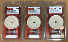 "3 Pks. CRAFTSMAN 3"" 40 PLY BUFFING WHEEL SET w/SOFT METAL COMPOUND #35790 NEW."