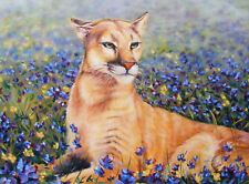 Cat Oil Painting: The Big Cat Series. The Perfect Gift Idea!
