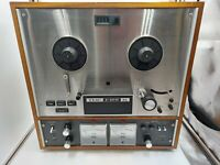 Vintage TEAC A-4010SL Reel to Reel Auto Reverse 4 Track Tape Recorder **TESTED**