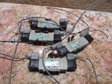 Numatics Valve Unit L12bb452b 01 31 96 226 749b Komo Router Lot Of 3 Pieces