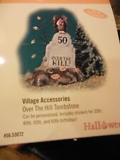 "Dept 56  Village  ""Over the Hill Tombstone"" MIB"