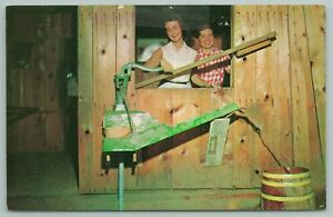 Gatlinburg Tennessee~Mystery Hill Well~Vintage Postcard