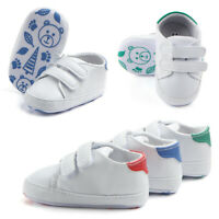 Infant Toddler Anti-Slip Casual Soft Sole Crib Shoes Sneaker Boy Girl Newborn
