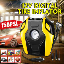 150PSI 12V Digital Portable Electric Air Compressor Pump Tyre Inflator for Car