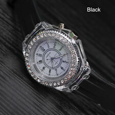 2017 Fashion Stainless Steel Leather Men's Date Sport Analog Quartz Wrist Watch White Dial Black Band