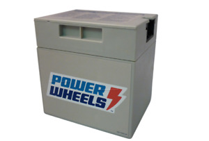 Power Wheels Genuine OEM 00801-0638 Battery 12 Volt Gray Grey 12V *NEW*