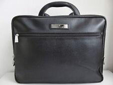 TRUSSARDI Briefcase Leather Black