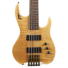 Used PBC Dave Bunker 5-String Headless Bass Natural
