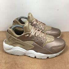 New listing Nike Air Huarache  Metallic Gold/Rose Gold AA0523-200 Women's Shoe Size 9.5