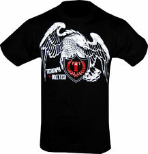 Triumph United American Iron Eagle MMA Black Tee Shirt UFC Size S Small NEW!