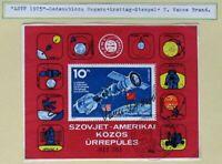 s1381) Ungarn Gedenkblock 1975 Ersttag Stempel - Autograph Vance Brand