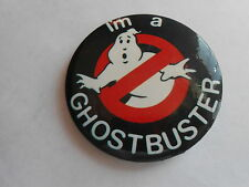 Cool Vintage I'm a Ghostbuster Ghostbusters Movie Promo Advertising Pinback