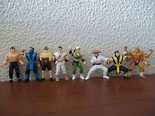 Tec Toy figures - Lot with 8 Mortal Kombat miniatures - 1992 - Very rare!
