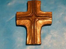 Messing Kreuz ca. 10 x 8 x 1,5 cm