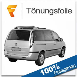 Passgenaue Tönungsfolie Fiat Ulysse Bj 2002-2011