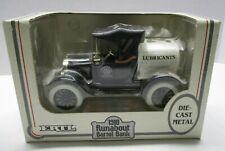 ERTL 1918 Runabout Barrel Bank Black 1/25 Scale Die Cast Locking Coin Bank 1990