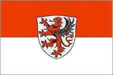 Aufkleber Gießen Flagge Fahne 18 x 12 cm Autoaufkleber Sticker