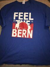 Men's Bernie Sanders Feel The Bern Shirt Xl