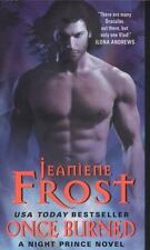 Night Prince: Once Burned 1 by Jeaniene Frost (2012, Paperback) **NEW**