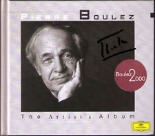 Pierre Boulez Signed Artist's Album Wagner Messiaen Ravel Bartók Stravinsky CD