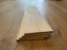 Oak Timber Offcuts 4 Pieces @ 450mm x 120mm x 10mm (European Oak)