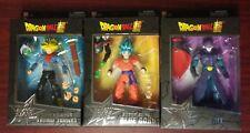 Dragonball Super Dragon Stars Super Saiyan Future Trunks, Hit & Blue Goku Lot