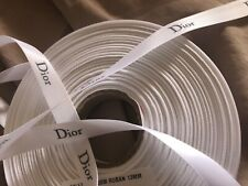 ❤ 50cm Grey Silver PIECE AUTHENTIC rare TOM FORD RIBBON wrap crafts decor BOWS ❤
