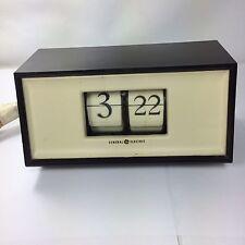 RARE VINTAGE ANTIQUE GE GENERAL ELECTRIC CLOCK MODEL 8114 FLIP DIAL 1950-1960