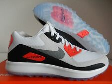 NIKE AIR ZOOM 90 IT GOLF SHOES WHITE-GREY-NEUTRAL GREY SZ 9 [844569-101]