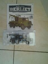 camion au 1/43 berliet gbc 8 kt de depannage collection  test sous blister neuf