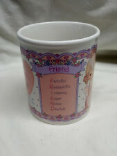 Vintage White Ceramic Precious Moments Coffee Tea Cup Mug Friend