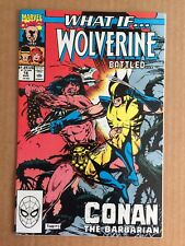 """What If #16 2nd Series """"Conan Battled Wolverine?"""" ~ Marvel Comic"""