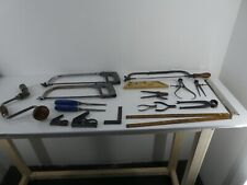 More details for job lot vintage engineers/woodworkers tools stanley thewlis moore & wright (j13)