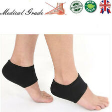 2x Foot Heel Ankle Wrap Pads Cushion Plantar Fasciitis Pain Relief Arch Support