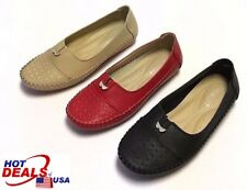 Women Moccasin Shoes - Comfort & Fashion Flats with Anti-skid Loafer Size 5-11