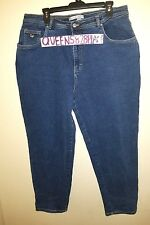 Gloria Vanderbilt Womens Plus Size 20W Short 3X Stretch Blue Jeans Denim 12828